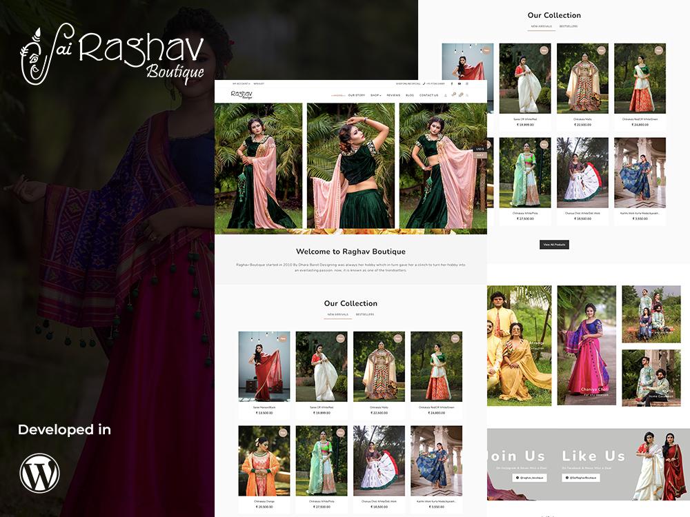 Raghav Boutique Portfolio