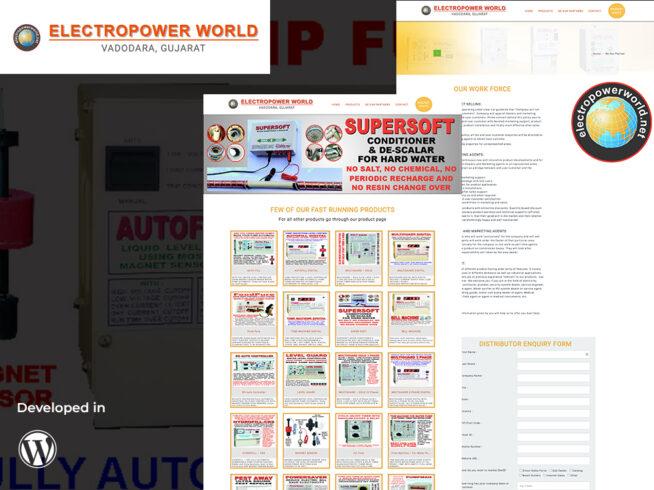 Electro Power World Portfolio