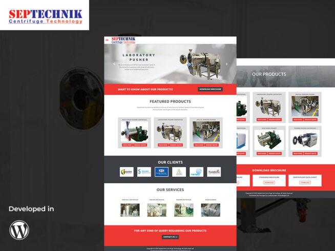 Septechnik Centrifuge Portfolio