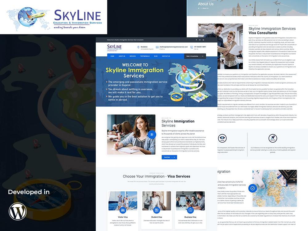 Skyline Immigration Services Portfolio