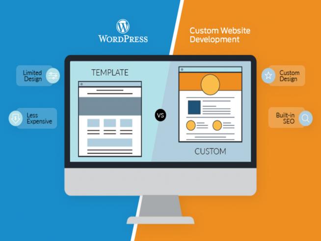 How to choose between WordPress Themes vs. Custom WordPress Development